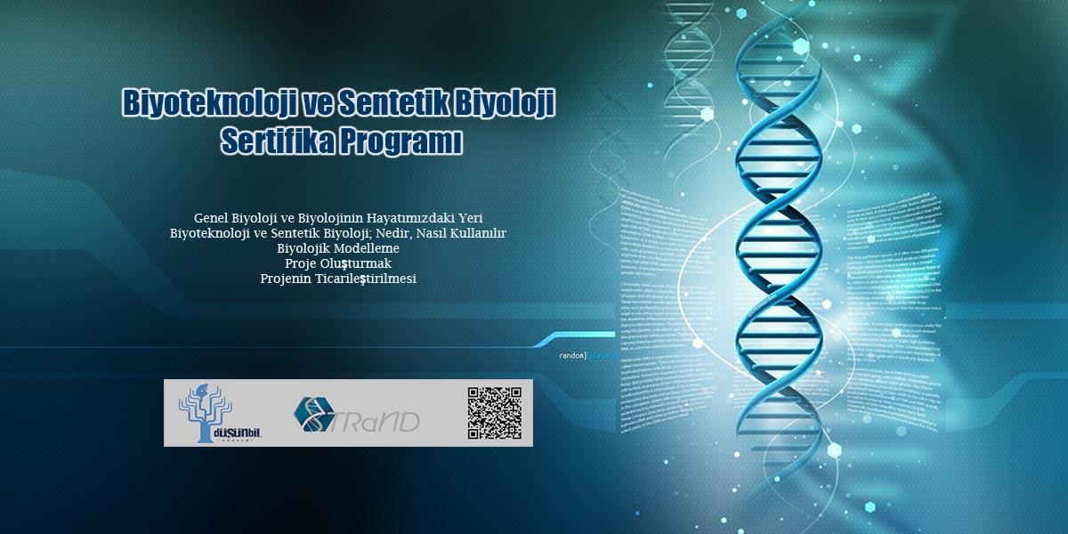 Biyoteknoloji ve Sentetik Biyoloji Sertifika Programı